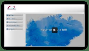 Screenshot of Bill Pay Tutorial