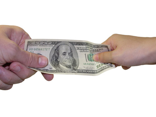 money tug of war