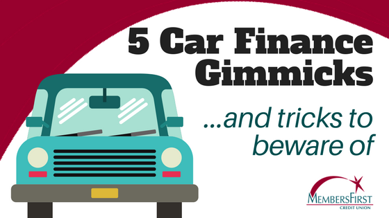 5 Car Finance Gimmicks and Tricks to Beware Of
