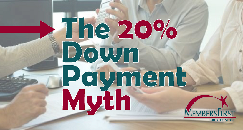 Home Buyers and the 20% Down Myth