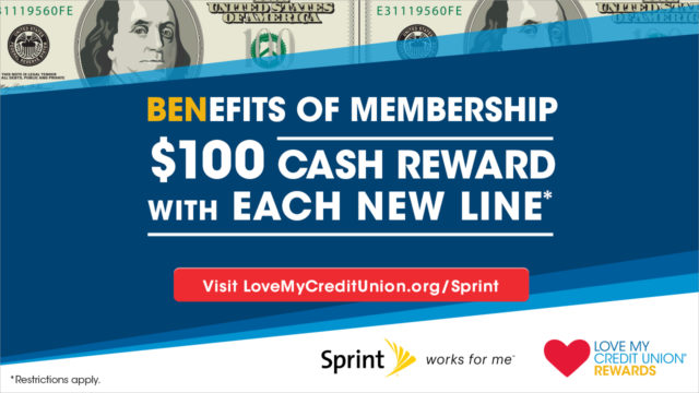 Get the Most Out of Your Credit Union Membership with Sprint!