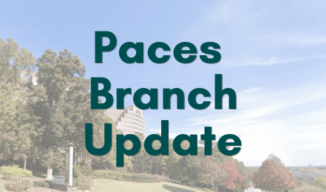 Paces Branch Update
